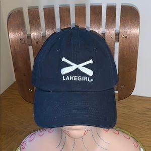 Lakegirl Hat   Blue Adjustable Baseball Cap